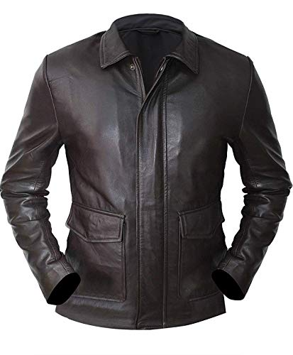 Harrison Ford Indiana Jones Brown Vintage Leather Jacket