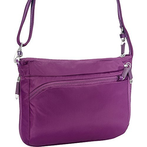 eBags eBags Crossbody Crossbody Theft Eggplant Theft Anti Eggplant eBags Anti OqqEB