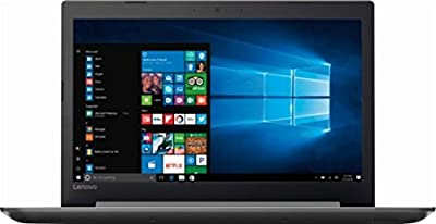 "Lenovo Ideapad 320 15.6"" HD Notebook, AMD Quad-Core A12-9720P 2.7GHz Upto 3.6GHz, 8GB DDR4, 128GB SSD, AMD Radeon R7, Card Reader, DVD-RW, WiFi, Bluetooth, HDMI, Windows 10 Pro"