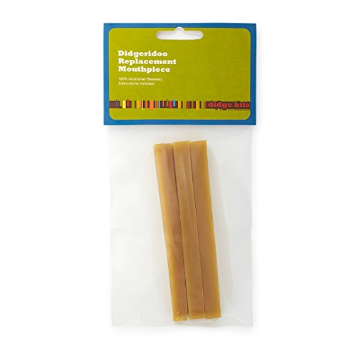 100% Australian Beeswax Didgeridoo Mouthpiece Replacement Kit For An Authentic Didgeridoo Mouthpiece - Mouth Show Bit