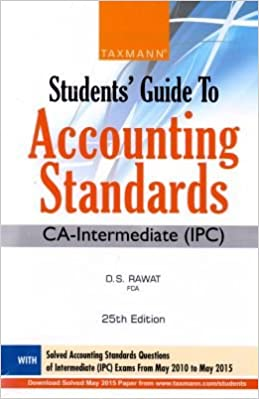 Students Guide to Accounting Standards (CA-Intermediate (IPC