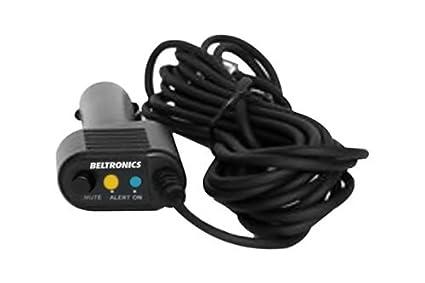 Beltronics y Escort 12 pies rectos SmartCord cable de alimentaci?n W / LED azul