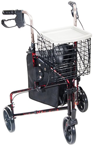 Rollator Capacity Features LIGHTWEIGHT ALUMINUM