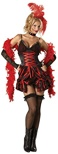 Western Style Dance Costumes (Dance Hall Darlin Adult Costume - Medium)