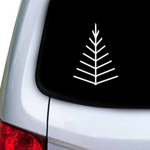 stickany-car-and-auto-decal-series-twig-tree-arrow-head-sticker-for-windows-doors-hoods-white