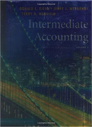 Amazon intermediate accounting volume 2 9780471771937 amazon intermediate accounting volume 2 9780471771937 donald e kieso jerry j weygandt terry d warfield books fandeluxe Gallery