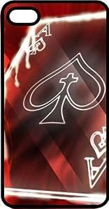 Ace Of Spades Card Black Plastic Case for Apple iphone 6 4.7 WANGJING JINDA