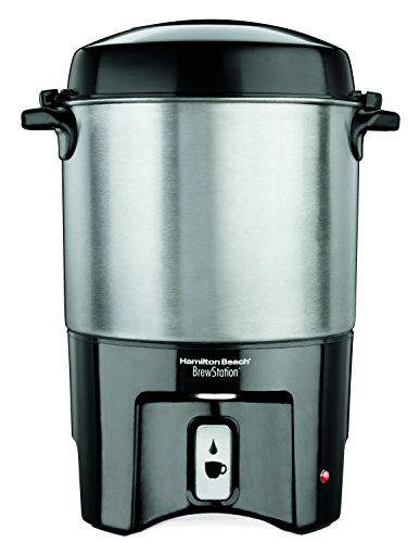 - Hamilton Beach 40540 Brew Station 40-Cup Coffee Urn, Silver