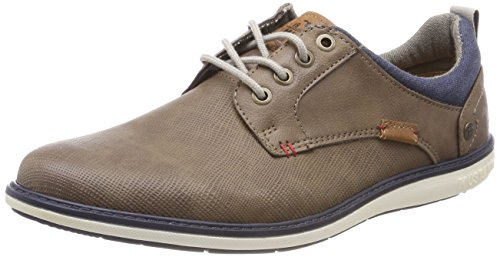 Homme 304 Basses Braun 3 Sneakers 4111 Mustang 3 Marron OzXqWf