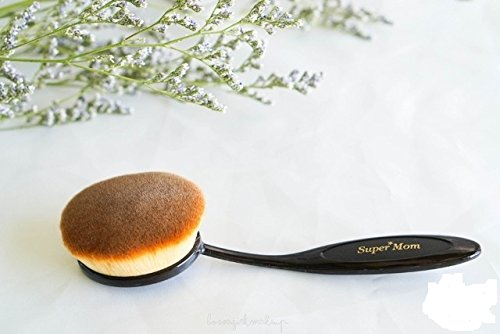New! Super Definition Face Brush for Professional Makeup & Best Foundation Brush (Size (Mac Makeup Halloween)