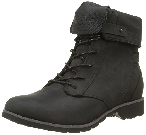 cheap online store Teva Women's Delavina Lace Premium Leather Boot Black (Black- Blk) outlet from china for cheap online recommend cheap price lUWn9k