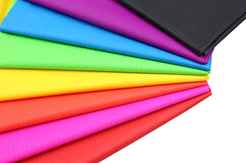 (Ripstop Nylon Fabric for Kite Making Pack of 8 PCS )