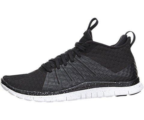 (Nike Free Hypervenom 2 - Black / White-Black, 9.5)
