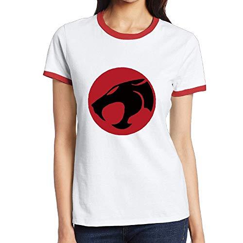 Women's Thundercats Retro Ringer T-shirt, S to XXL