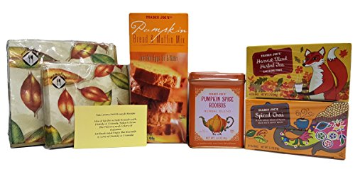 Trader Joe's Tea Lovers Winter Brunch with Recipe Gift Set 6 Piece Bundle