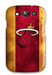 Galaxy Durable Protection Case Cover For Galaxy S3 Awesome Miami Heat By Fornicras Dw