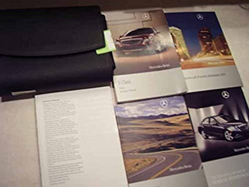 2010 mercedes e class owners manual mercedes amazon com books rh amazon com