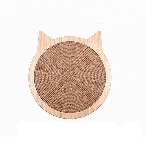 GYJ Durable Cat Scratch Pad/Sisal cat Scratch pad Recyclable/Scratching Post Protection Play Perfect Mat for Cats Natural