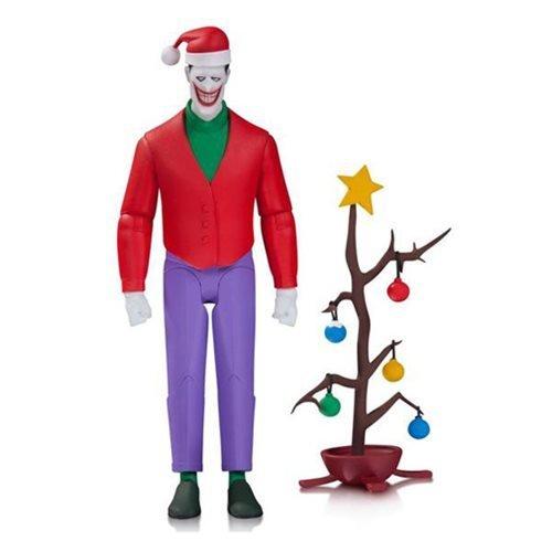 DC Comics Batman: The Animated Series: Christmas Joker Action Figure