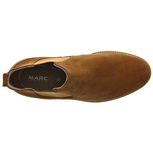 Marc Shoes Herren Rauleder Chelsea-Boot Dover, Cognac
