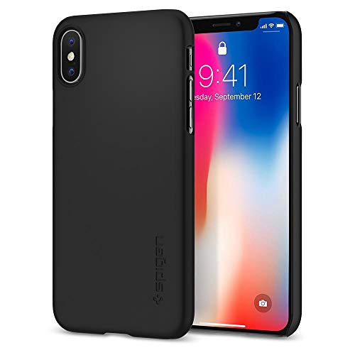 Spigen Thin Fit Designed for Apple iPhone XS Case (2018) / Designed for Apple iPhone X Case (2017) -...