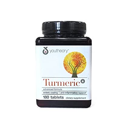 YouTheory Turmeric Advanced 180 Comprimidos