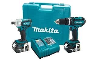 Makita LXT211 18-Volt LXT Lithium-Ion Cordless 2-Piece Combo Kit