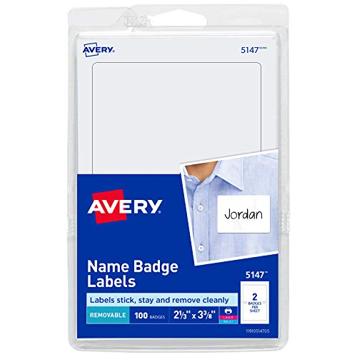 Avery White Print Write Labels product image