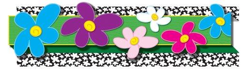 (Carson Dellosa Flowers Borders (108051))