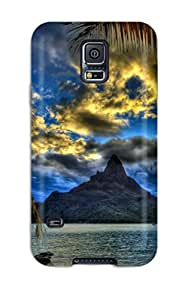 Galaxy S5 Bora Bora Print High Quality Tpu Gel Frame Case Cover