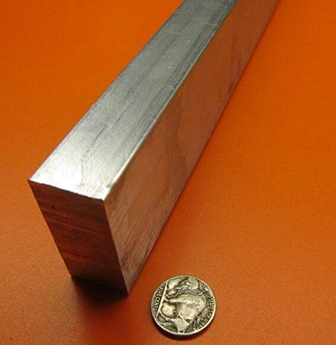 - JumpingBolt 6063 T5 Aluminum Bar, 7/8'' (.875'') Thick x 2.0'' Wide x 48'' Length Material May Have Surface Scratches
