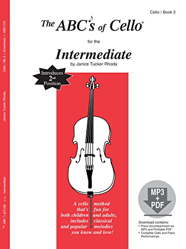 The ABCs of Cello for the Intermediate, Book 2 (Book & MP3/PDF)