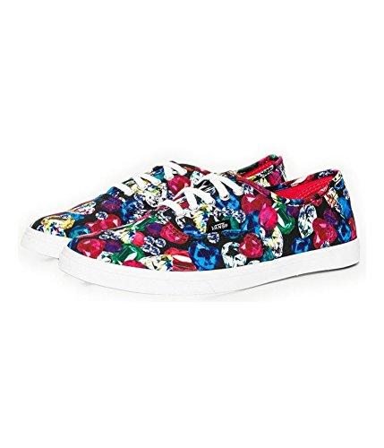 Bestelwagens Unisex Authentieke Lo Pro Jewel Sneakers Blktruwht