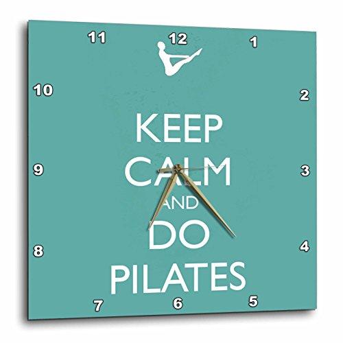 3dRose dpp 159560 3 Workout Pilates Instructor