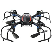 Skytoy Mini Quadcopter 3D Flip 2.4Ghz 6-Axis Gyro Racing Drone for Beginner Black