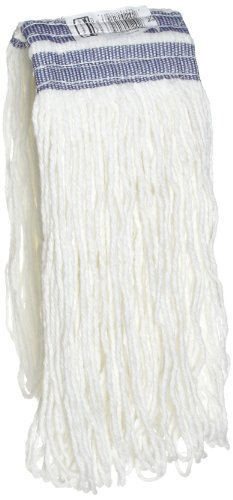 Rubbermaid Commercial FGE43600WH00 Universal Headband Wet Mop Head, Rayon, 16-ounce, White