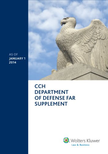 Department of Defense FAR Supplement (DFAR) as of January 1, 2014