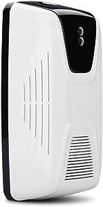 Automatic Fan Air Freshener Light Sensor Fragrance Perfume Sprayer Machine Aerosol Dispenser for Bathroom Toilet