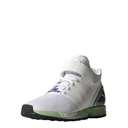 adidas Herren Sneaker ZX Flux NPS Mid grau Bianco