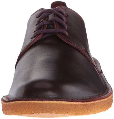 Clarks Mens Desert London Oxford, Nut Brown, 12 M US