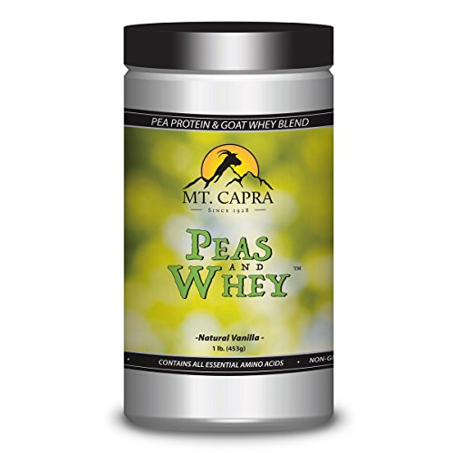 Peas and Whey – Pea Protein and Goat Whey Blend For Sale