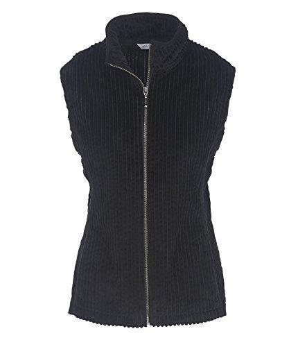 Woolrich Women's Kinsdale Corduroy Vest, Black, Medium by Woolrich