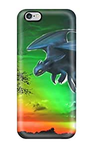 Protective Tpu Case With Fashion Design For Iphone 6 Plus (colorful Toothless Dreamworks Animation)