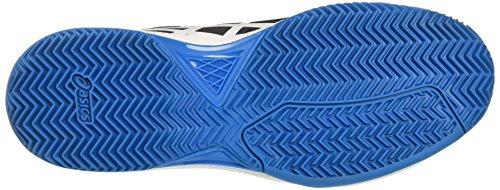 5 Asics Zapatillas Tenis para Surf Gel Black Hombre Dedicate Hawaiian de Clay White Multicolor qrCrwB