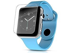 Protector de Pantalla Cristal Templado para Apple Watch 38mm Maxima Dureza 9H Glass Tempered Premium Case. Wo! Accesorios®
