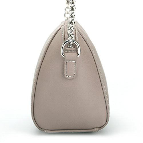 Messenger Purse Travel Trapeze Chain Leather Women's Bag Small DAVIDJONES Saddle Crossbody Faux Shoulder Camel z1pC6nwq