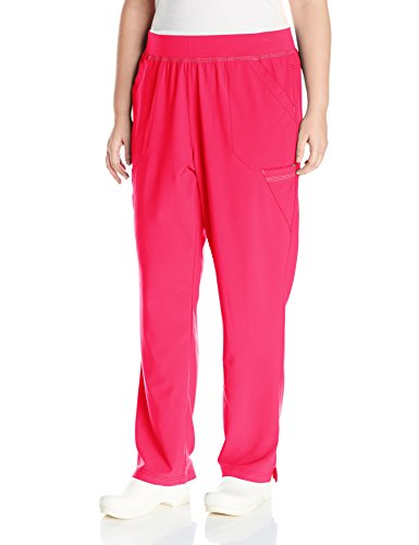 - Carhartt Women's Cross-Flex Plus Size Straight Leg Knit Waist Cargo Scrub Pant, Azalea, 3X-Large