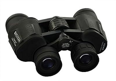 Welltop? Black 8x40 Binoculars 40mm Objective diameter Outdoor Sports Telescope 8x40 for Bird watching Hiking Camping Concert