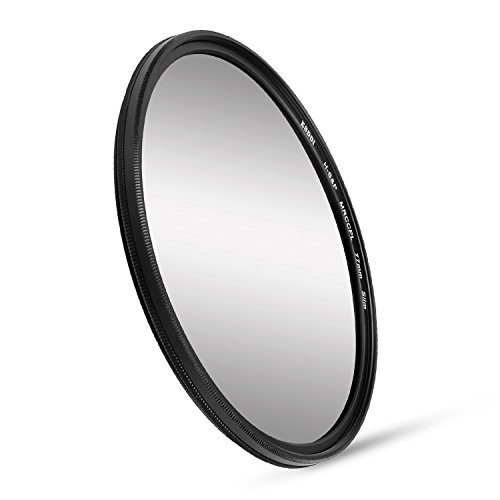 ESDDI 77mm CPL Filter Circular Polarizer Filter with Multi-Resistant Coating and SCHOTT B270 - Glasses Polarising Filter