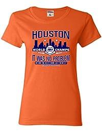 Womens Houston It Was No Problem World Champs T-Shirt